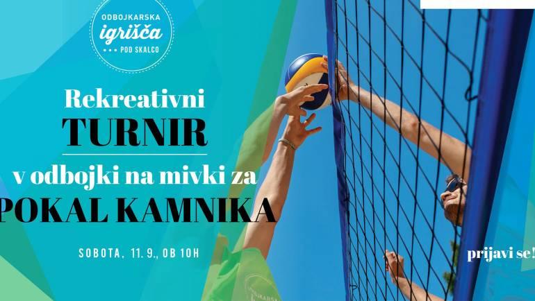 Tretji rekreativni beachvolley turnir za pokal Kamnika